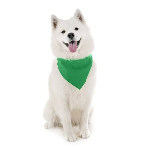 Jordefano Dog Bandanas - 7 Pack - Scarf Triangle Bibs for Small, Medium and Large Puppies, Dogs and Cats - One Size