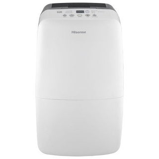 Hisense DH-35K1SCLE Energy Star 35 Pt. 2-Speed Dehumidifier - White