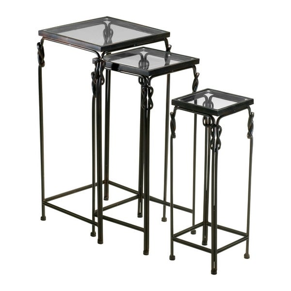 Cyan Design 4311 Dupont Nesting Tables - Rustic Iron