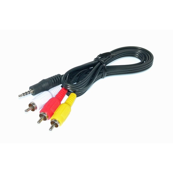 OEM Philips AV Cable Originally Shipped With: PET702P17, PET708/07, PET708/37, PET722/37, PET723/37, PET726/37