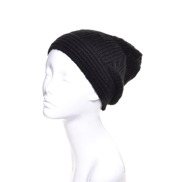 Aran Knit Winter Beanie Hat