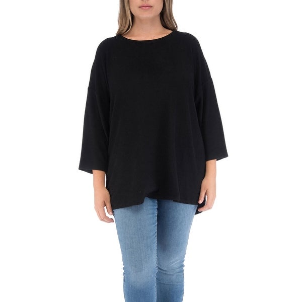 02df315526ec Shop Bobeau Emmy Plus Size Pleat Back Pullover - Free Shipping Today ...