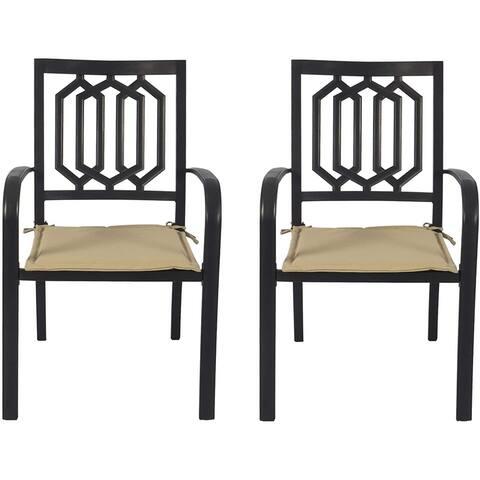 Kozyard Villa Outdoor Patio Dining Chair