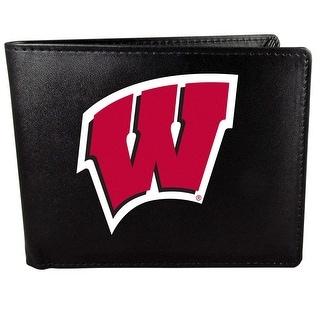 Wisconsin Badgers Bi Fold Wallet Logo