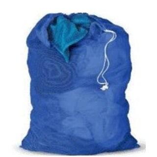 "Honey-Can-Do LBG-01161 Mesh Laundry Bag, Blue, 24"" x 36"""