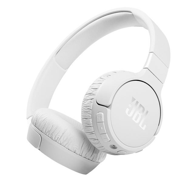 JBL Tune 660NC Wireless On-Ear Active Noise Cancelling Headphones. Opens flyout.