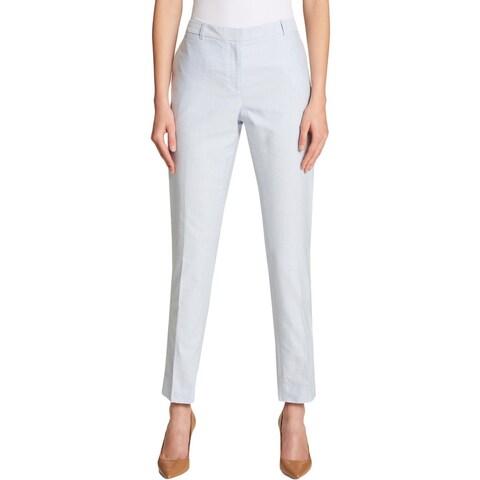 Tommy Hilfiger Womens Dress Pants Slim Leg Ankle