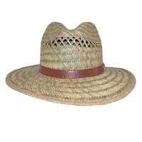 Dorfman Pacific Rush Straw Casual Wide Brim Outdoor Safari Hat