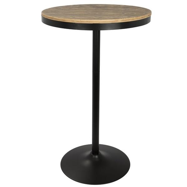 Carbon Loft Goddard Industrial Adjustable Dining/ Bar Table. Opens flyout.