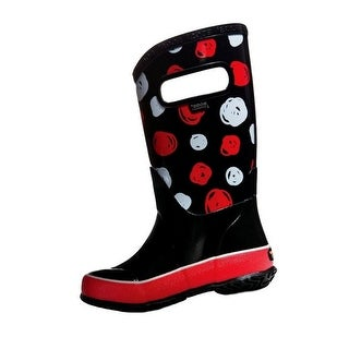 Bogs Boots Kids Rain Boot Sketch Dot Waterproof Rubber 72089