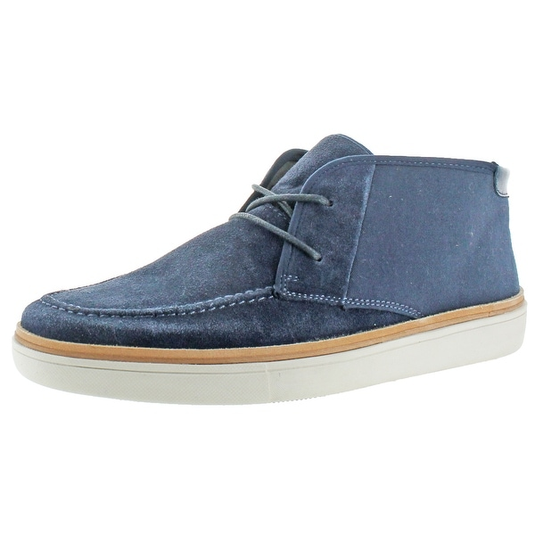 Calvin Klein Men's Jake Suede Canvas Chukka Boot Shoe