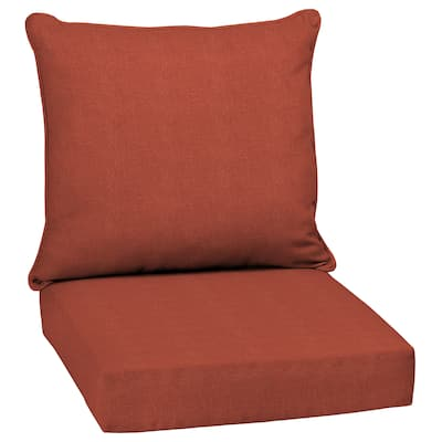 Arden Selections Sedona Woven Outdoor 24 in. Conversation Set Cushion - 24 (L) x 24 (W) x 5.75 (H)