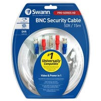 HD Video & Power 50ft / 15m BNC Cable
