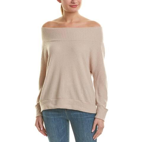 Lna Waffle-Knit Sweater