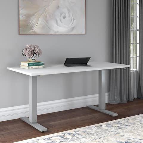Cabot 60W Electric Height Adjustable Standing Desk by Bush Furniture