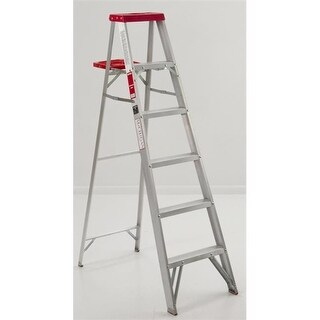 Michigan Ladder 331004 4 ft Michigan Commercial Aluminum Step Ladder