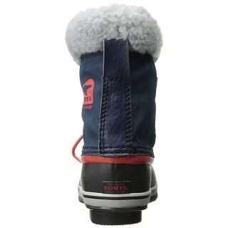 SOREL Yoot Pac Nylon Collegi N Cold Weather Boot (Toddler/Little Kid/Big Kid) - 12 m us little kid