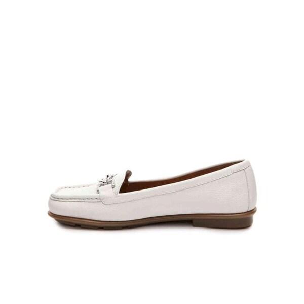 Aerosoles Womens hazelnut Square Toe Loafers
