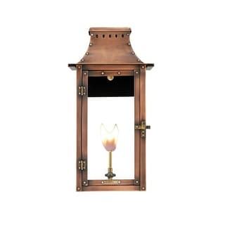 "Primo Lanterns BB-22G Breaux Bridge 18"" Wide Outdoor Wall-Mounted Lantern Natural Gas Configuration"