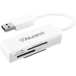Aluratek Aucr300f Sdxc / Sdhc / Microsd / Ms Usb 3.0 Multi-Media Card Reader