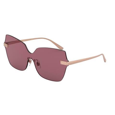 Dolce & Gabanna DG2260 129869 46 Bordeaux Woman Square Sunglasses