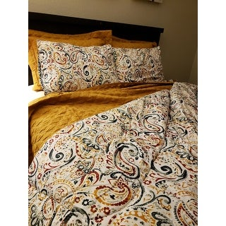 Amrapur Overseas Gaia Paisley Reversible 6-piece Comforter Set with Bonus Coverlet Set