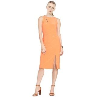 Lauren by Ralph Lauren Cutout Sleeveless Sheath Dress - 0