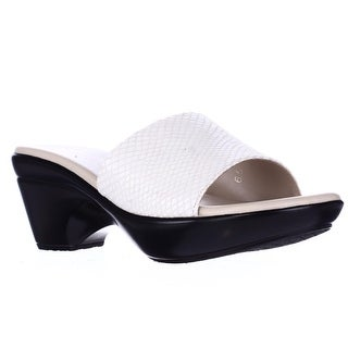 Athena Alexander Lima Wedge Slide Sandals - White