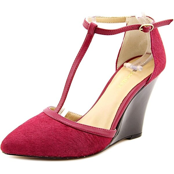 Sole Society Jolie Open Toe Suede Wedge Heel
