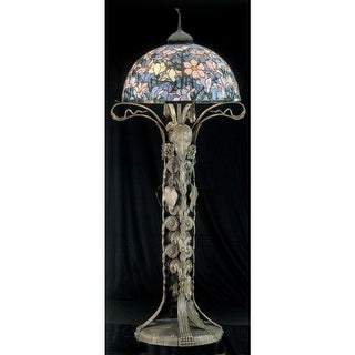 Meyda Tiffany 49874 Stained Glass / Tiffany Floor Lamp from the Classic Tiffany Collection