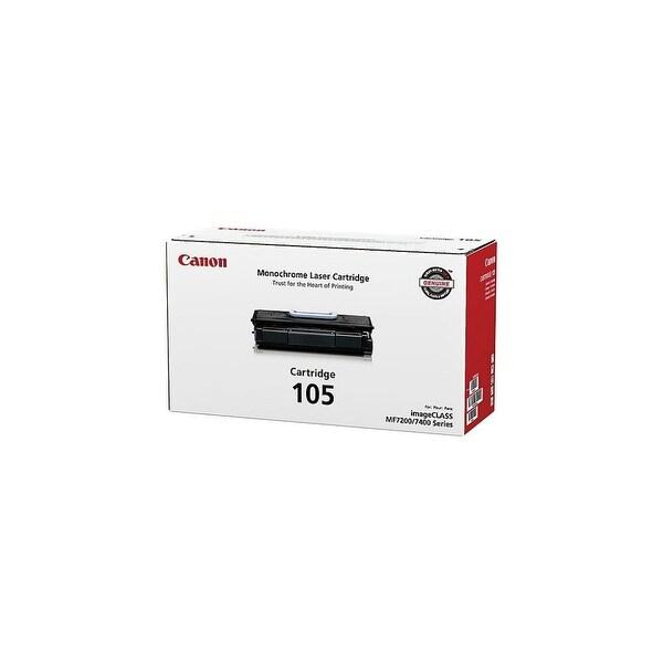 Canon 105 Toner Cartridge - Black (Single Pack) 105 Toner Cartridge - Black