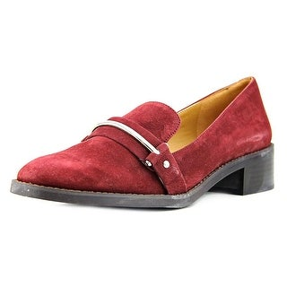 Nine West Chasin Round Toe Leather Loafer