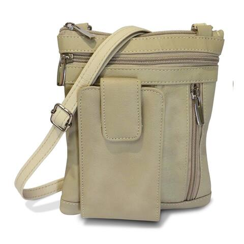 Leather CrossBody Casual Bag - S