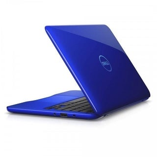 """Dell Inspiron 11-3168 Intel Celeron N3060 X2 2.48GHz 4GB 32GB 11.6"""" Win10, Blue"""