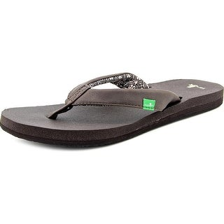 Sanuk Yoga Zen Open Toe Synthetic Flip Flop Sandal
