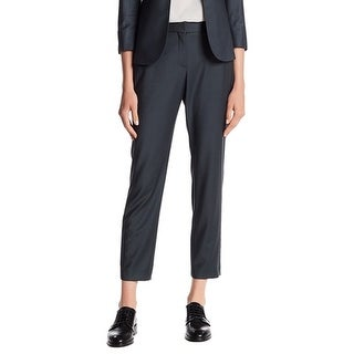 Theory NEW Slate Gray Women's Size 4X29 Dress Pants Wool Stretch