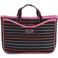 Hadaki by Kalencom Women's Neoprene 11.1 Netbook Sleeve/Tote Pencil Stripes Berry - us women's one size (size none)