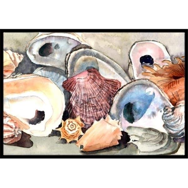 Carolines Treasures 8619MAT 18 x 27 in. Sea Shells Indoor Or Outdoor Mat
