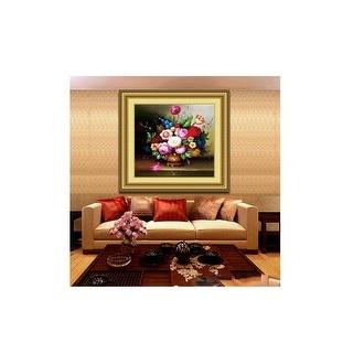 Full diamond DIY painting 5d diamond embroidery painting livingroom - Cyber yellow