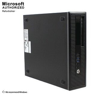 HP EliteDesk 800G1 SFF Intel i7-4770 3.40GHz, 12GB RAM, 240GB SSD + 2TB HDD, DVD, WIFI, BT 4.0, HDMI Adapter, WIN10P64(EN/ES)