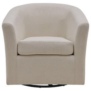 Link to Hayden Fabric Swivel Chair Similar Items in Living Room Chairs