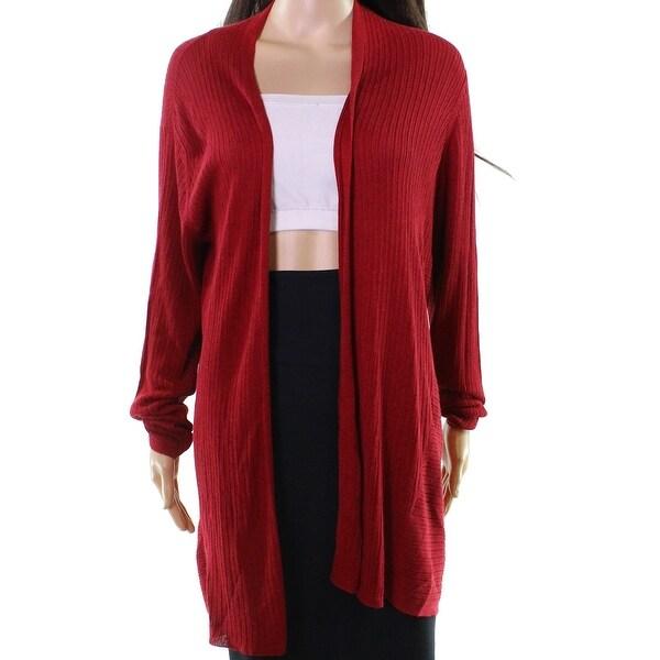 Eileen Fisher Women's Large Open Cardigan Silk Sweater