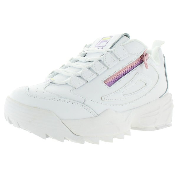 purple fila trainers