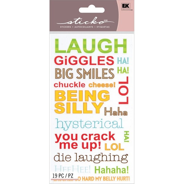 Sticko Stickers-Giggles