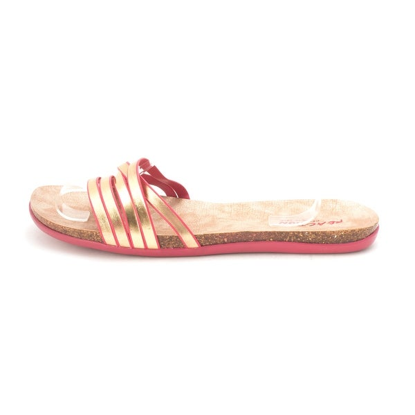 Kenneth Cole Reaction Women's Slim Cut Strappy Slide Sandal - 11