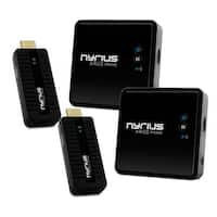 Nyrius ARIES Prime Digital Wireless HDMI Transmitter & Receiver System for HD 1080p 3D Video Streaming - 2 Pack