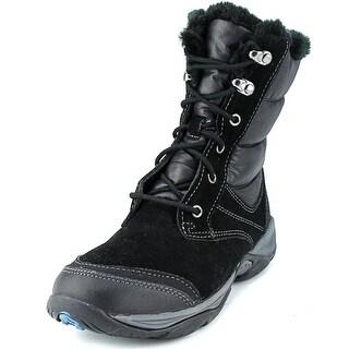 Easy Spirit Erle Round Toe Suede Snow Boot