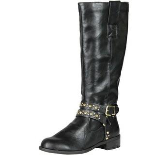 Soda Women Hitzo Boots - Black PU