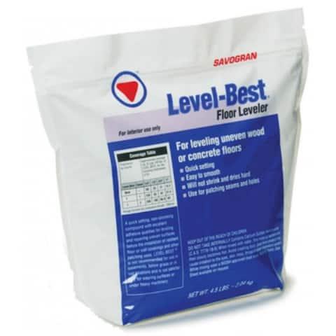 Savogran 12832 Level-Best Floor Leveler & Repair, 4.5 Lb