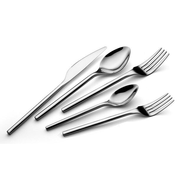 TALFOURD TALFOURD Silverware Royal 20 Piece Flatware Cutlery Set, 18/10 Stainless Steel Flatware, Service for 4, 100% Rust Proof. Opens flyout.